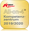 Siegel: All-on-4 Kompetenzzentrum